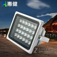 惠健LED投光灯户外照明投射灯大功率防水泛光路灯广告招牌景观灯6W12W18W36W48W 暖白光 48W