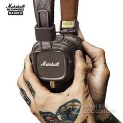 马歇尔MARSHALL MAJOR II 二代 头戴式监听耳机 便携摇滚 手机音乐耳麦 MAJOR II 二代 棕色