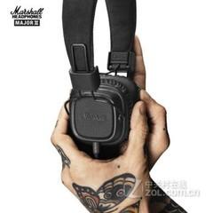 马歇尔MARSHALL MAJOR II 二代 头戴式监听耳机 便携摇滚 手机音乐耳麦 MAJOR II 二代 漆黑色