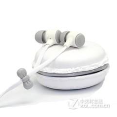 音悦畅享马卡龙可爱入耳式手机耳机 纯洁白