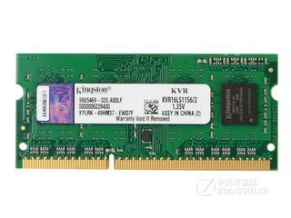 金士顿低电压版 2GB DDR3 1600(KVR16LS11S6/2)