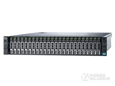 DELL/戴尔 PowerEdge R730XD 机架式服务器(Xeon E5-2620 v3*2/8GB*2/600GB*6)