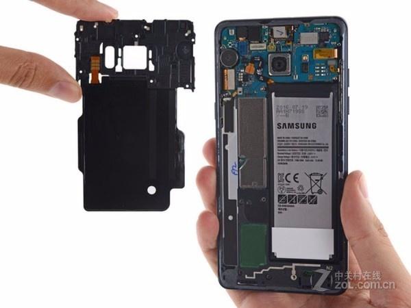 三星GALAXY Note 7(N9300/全网通)专业拆机