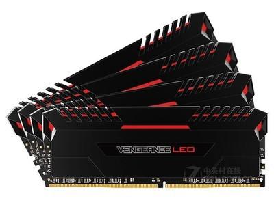 海盗船 复仇者LED 64GB DDR4 3200 (CMU64GX4M4C3200C16R)
