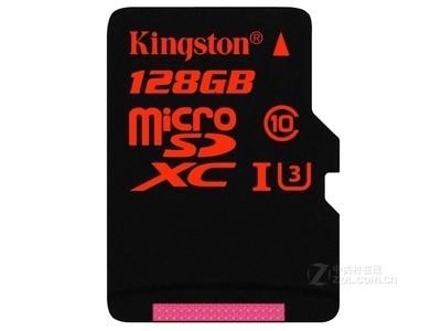金士顿 micro SDXC卡 Class10 UHS-I中国红(128GB)