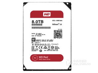 西部数据NAS 8TB/128MB SATA6Gb/s(WD80EFZX)