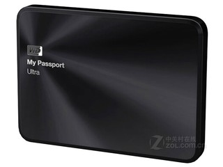 西部数据My Passport Ultra 金属版 2TB(WDBEZW0020BBK)