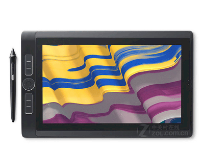 Wacom数位屏DTH-1320新帝Pro13.3寸手绘屏Cintiq触控屏液晶手写板 旗舰版