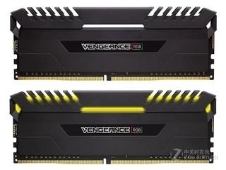 海盗船复仇者RGB 16GB DDR4 3000(CMR16GX4M2C3000C15)