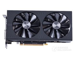 蓝宝石RX 580 4G D5 白金版 OC