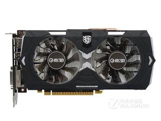 影驰GeForce GTX 1050骨灰黑将