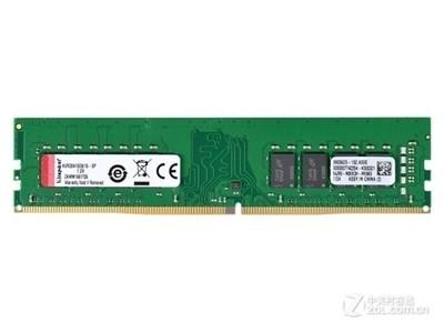 金士顿 16GB DDR4 2666(KVR26N19D8/16)16G 2666台式机内存条 四代原装内存条 本周促销!