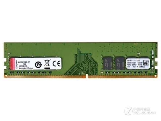 金士顿8GB DDR4 2666(KVR26N19S8/8)