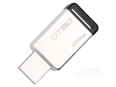 金士顿  DataTraveler 50 USB3.1闪存盘 黑色(128GB)