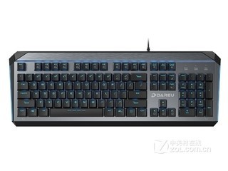 达尔优EK822机械游戏键盘
