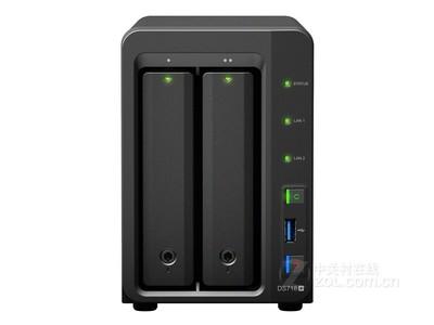 群晖 DS718+ 两盘位企业网络存储器  现货