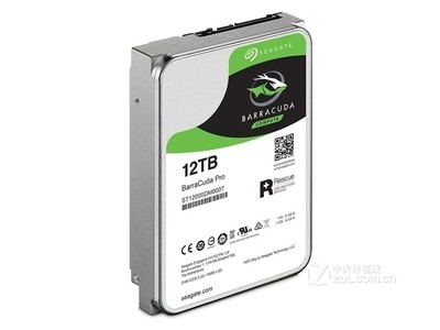 希捷 BarraCuda Pro 12TB 7200转 256MB(ST12000DM0007)