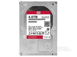 西部数据红盘Pro NAS 4TB/7200转/128MB(WD4002FFWX)