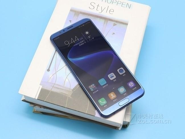 荣耀 V10全网通 标配版 4GB+64GB 极光蓝 移动联通电信4G手机 双卡双待