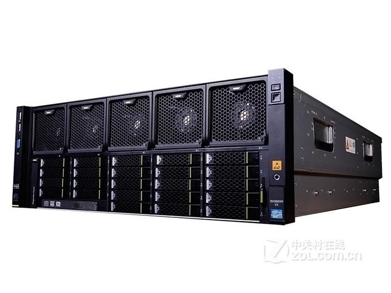 华为FusionServer RH5885 V3(Xeon E7-4809 v4*2/16GB*2/600GB/8盘位)