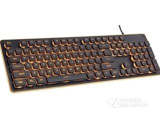 狼途L1金属炫彩背光游戏键盘