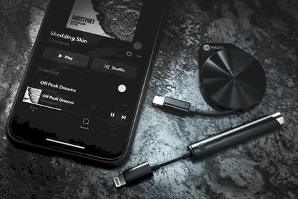 Iphone不二之选 迪比曼PALOVUE lightning耳机