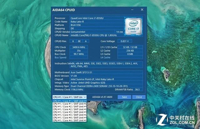 Acer Swift 3评测