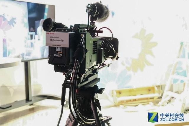 中国力量推动8K 夏普CES 2019展台速览