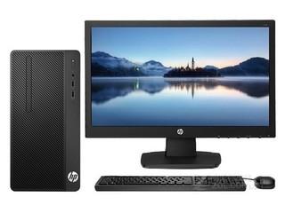 惠普288 Pro G4 MT(i3 8100/4GB/128GB/集显/21.5LED)