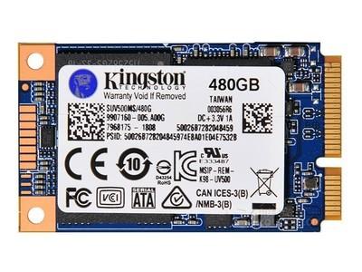 金士顿 UV500(480GB/mSATA接口)