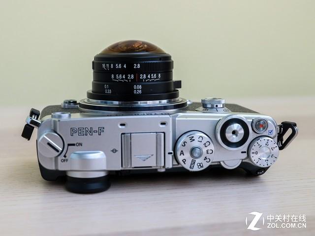 视角210度 老蛙4mm f/2.8鱼眼镜头体验评测