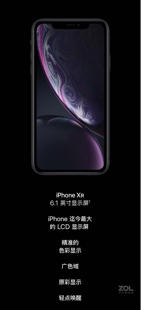 苹果iPhone XR(全网通)评测图解产品亮点图片3