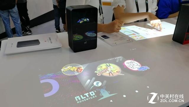 CESA:桌面投影还能互动 这款产品比你想的好用