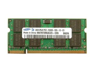 三星2GB DDR2 800(笔记本-金条)