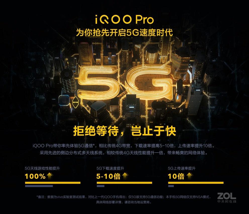 vivo iQOO Pro(8GB/128GB/5G全网通)评测图解产品亮点图片3