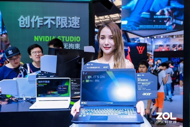 RTX IT'S ON  Acer面向设计师及游戏用户推出RTX高性能显卡PC