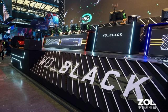 斗鱼主播AMS首秀ChinaJoy 西部数据WD_BLACK带你嗨翻全场