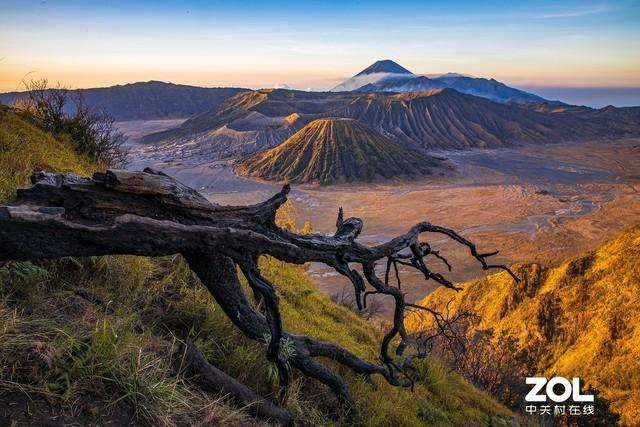 佳能EOS R挑战火山与大海