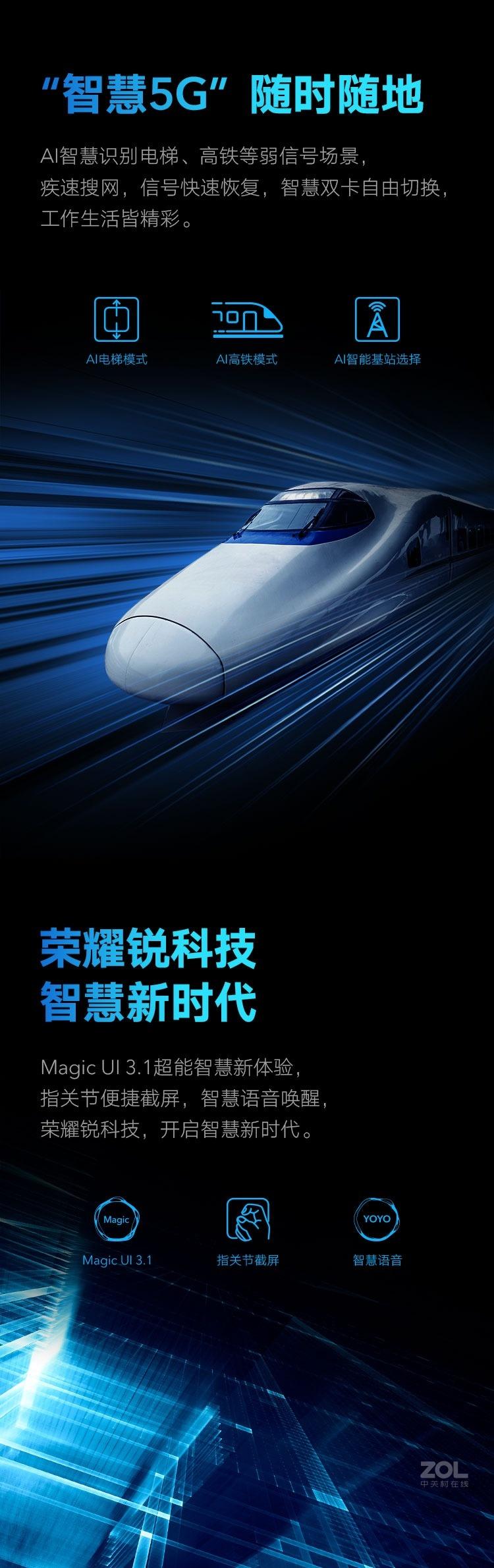 荣耀X10(6GB/128GB/全网通/5G版)评测图解产品亮点图片8