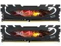 棘蛇32GB(2×16GB)DDR4 2666 黑马甲条