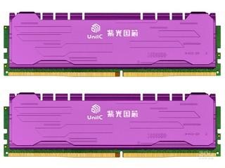 紫光16GB(2×8GB)DDR4 2400 马甲条