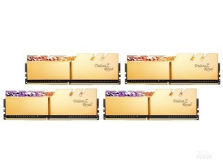 芝奇皇家戟 128GB(4×32GB)DDR4 3600(F4-3600C18Q-128GTRG)