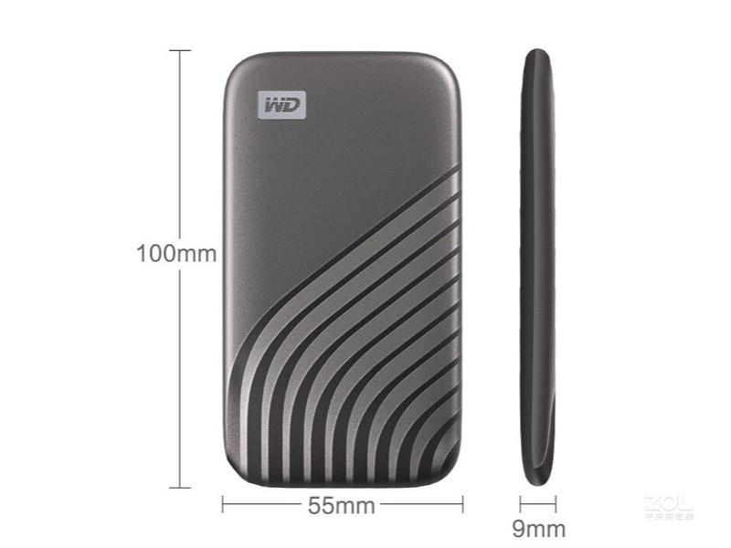 西部数据My Passport 随行SSD版(500GB)
