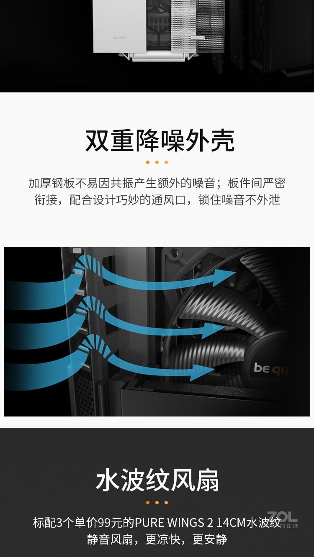 be quiet! SILENT BASE 802评测图解产品亮点图片4