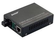 一舟10/100/1000M单模单纤光纤收发器外置电源SSA1000-20-X