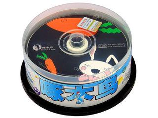 啄木鸟CD-R光盘25片装(动漫/每片)