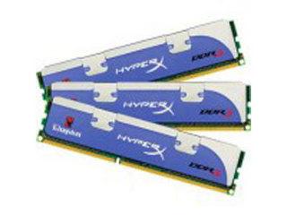 金士顿HyperX 3GB DDR3 1866(三通道套装)