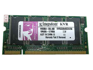 金士顿512MB DDR 333(笔记本)