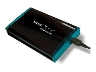 """金捷动感""""3+1""""/多媒体移动硬盘(40GB)"""