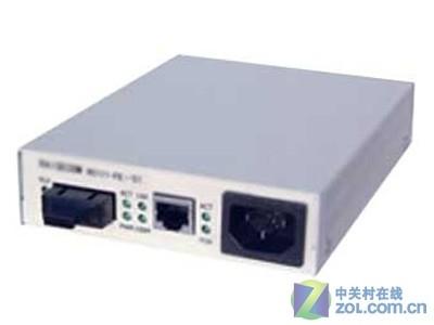 瑞斯康达 RC111-FE-S1独立式光纤收发器百兆单模双纤全新原装、质保3年